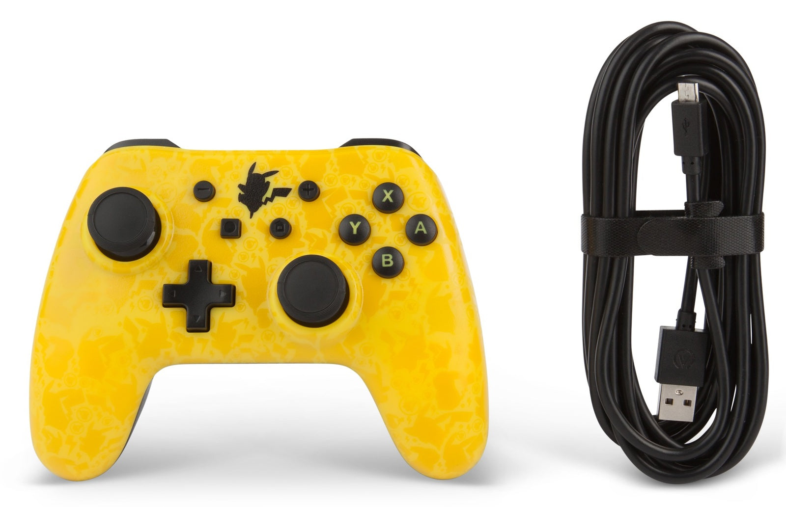 Nintendo Switch Wired Controller - Pikachu Shadow - Nintendo Switch