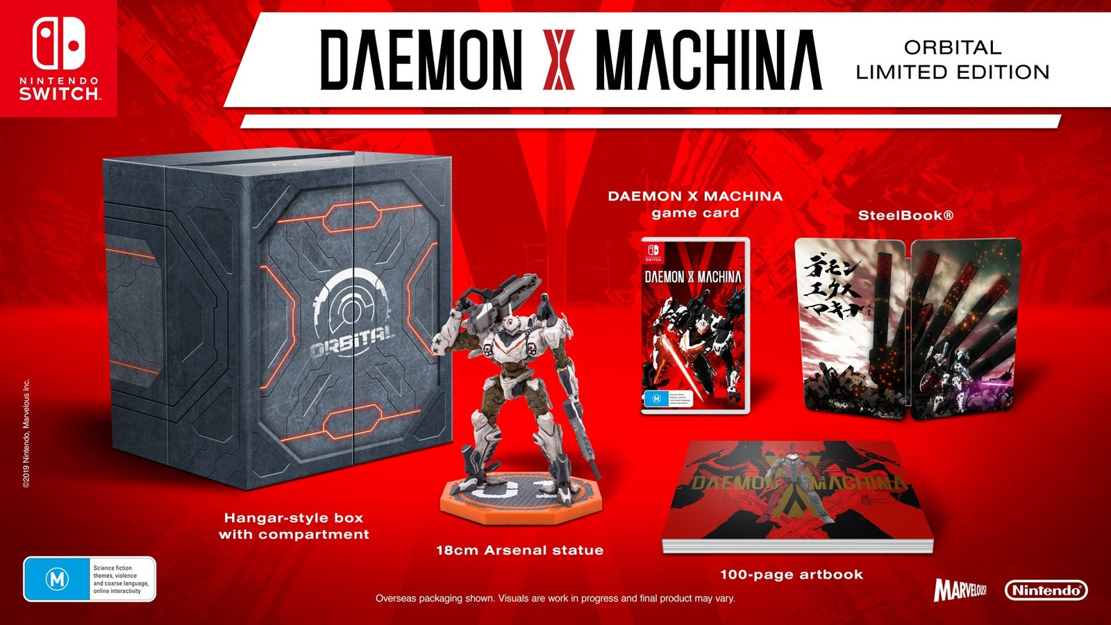 Daemon X Machina Orbital Limited Edition - Nintendo Switch