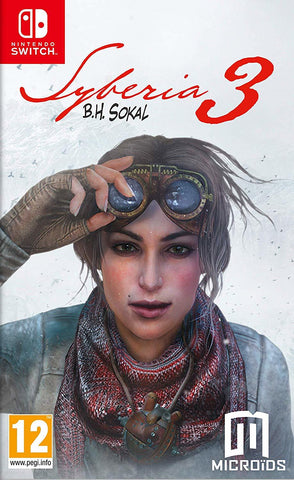 Syberia 3 - Nintendo Switch