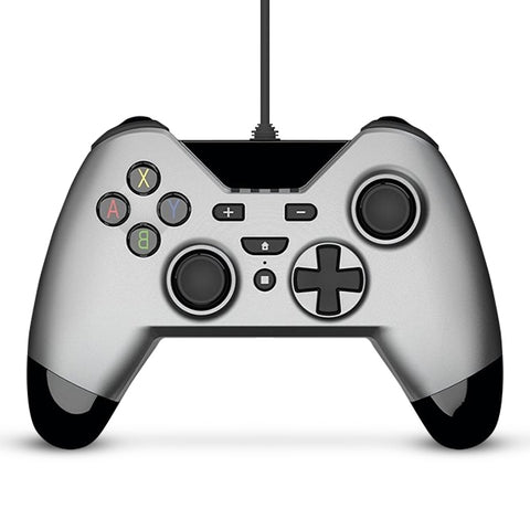 Gioteck WX-4 Wired Controller (Silver) - Nintendo Switch