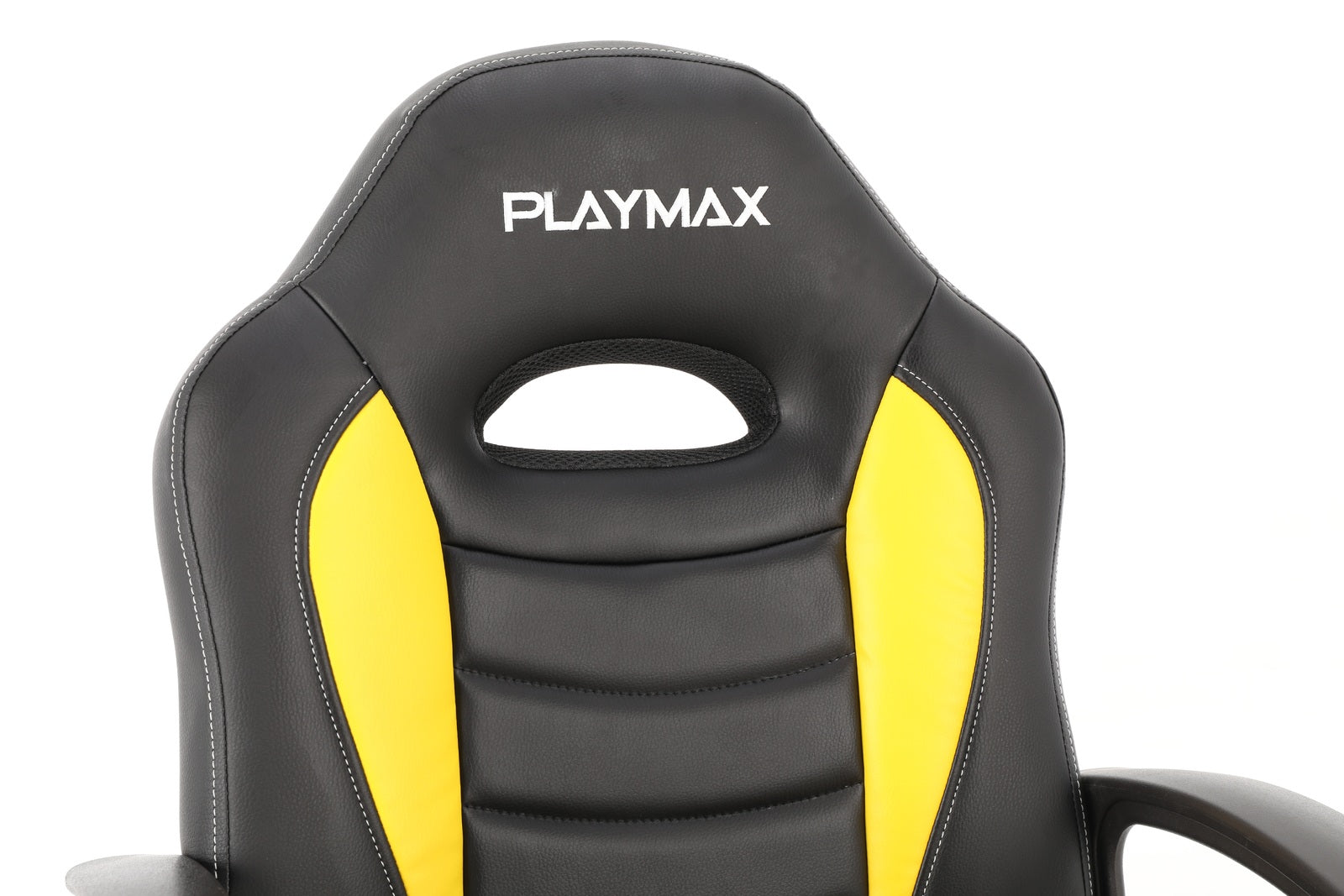 Playmax Kids Gaming Chair - Yellow and Black