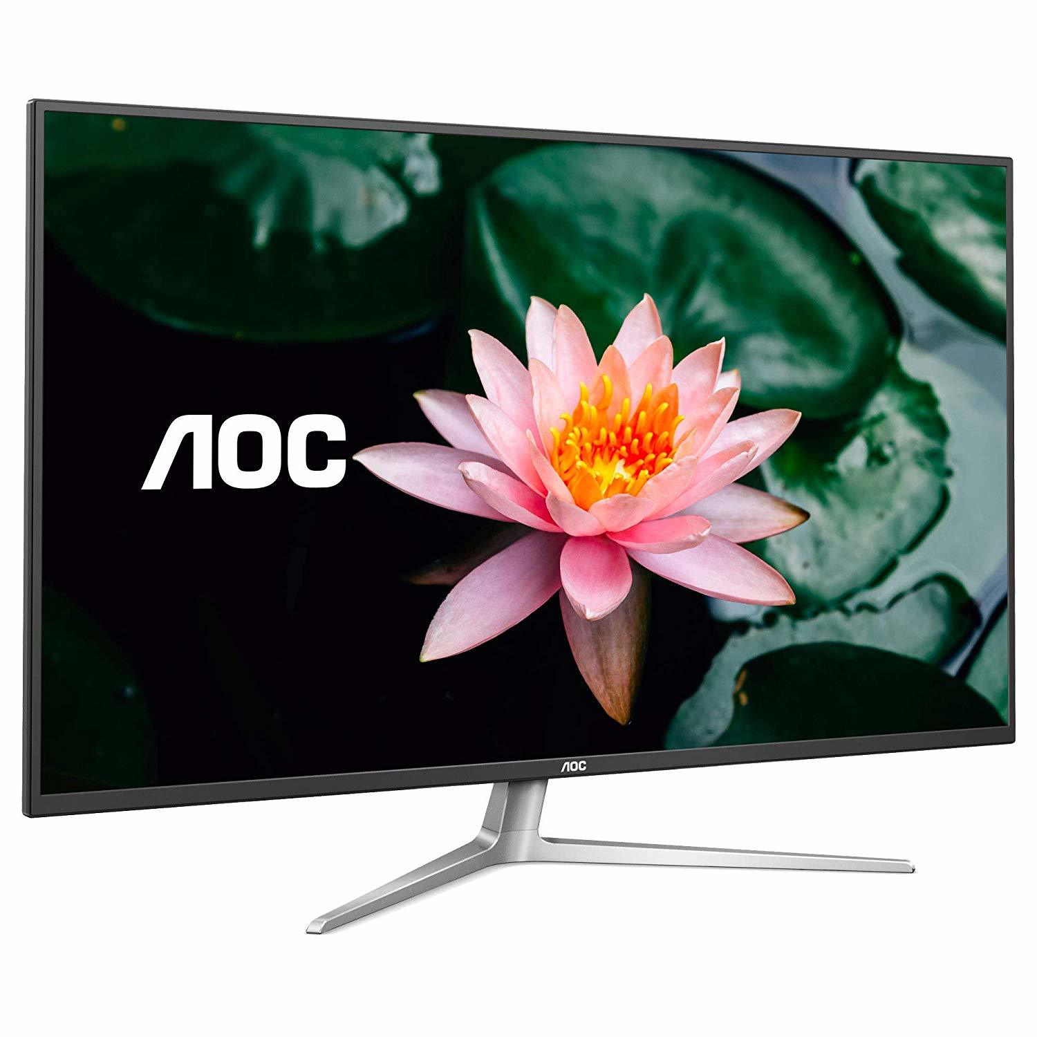 "42.5"" AOC 4k IPS 109% NTSC Flicker Free Monitor"