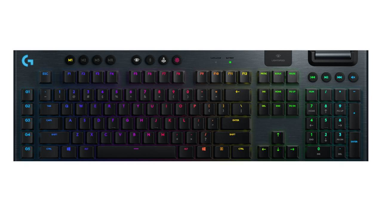 Logitech G915 Wireless Mechanical Gaming Keyboard (GL Linear) - PC Games
