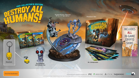 Destroy All Humans! Collector's Edition - PC Games