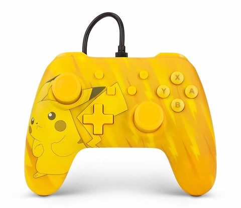Nintendo Switch Wired Controller - Tonal Pikachu - Nintendo Switch