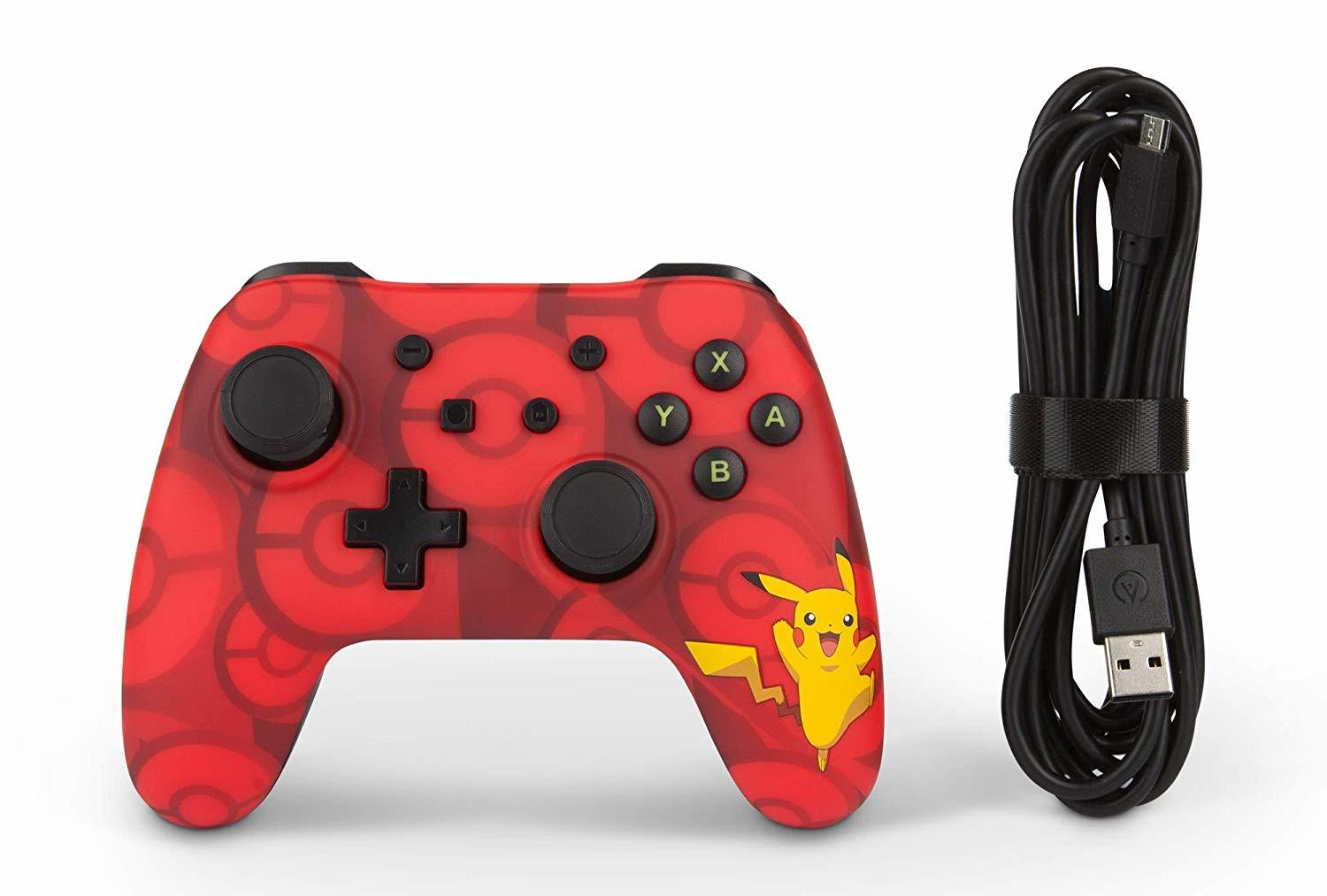 Nintendo Switch Wired Controller - Pikachu - Nintendo Switch