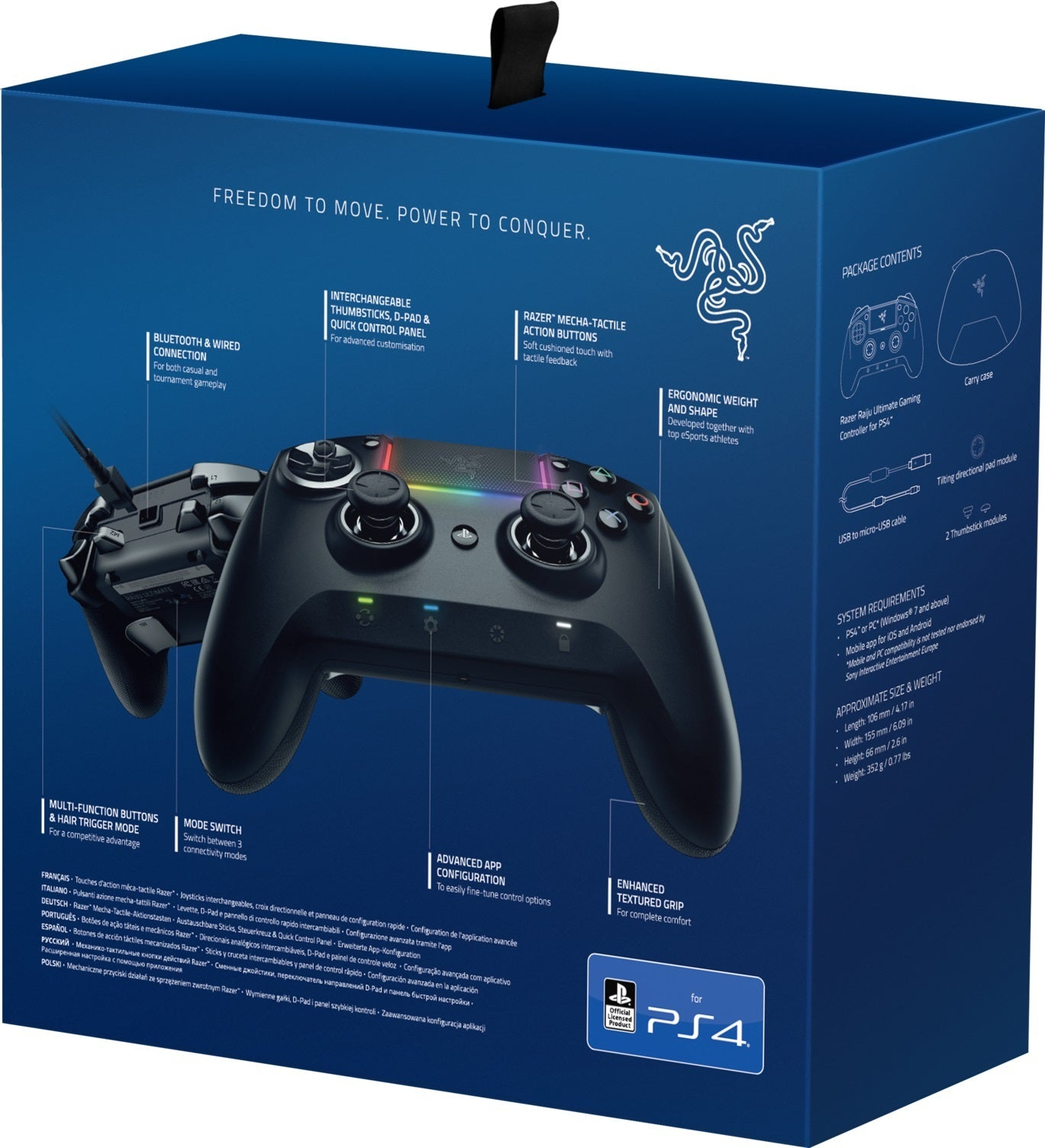 Razer Raiju Wireless Ultimate Ps4 Controller Bluetooth Ps4 The dualshock 4 ps4 wireless controller is a fantastic gamepad that improves on the classic dualshock form factor in all the right ways. razer