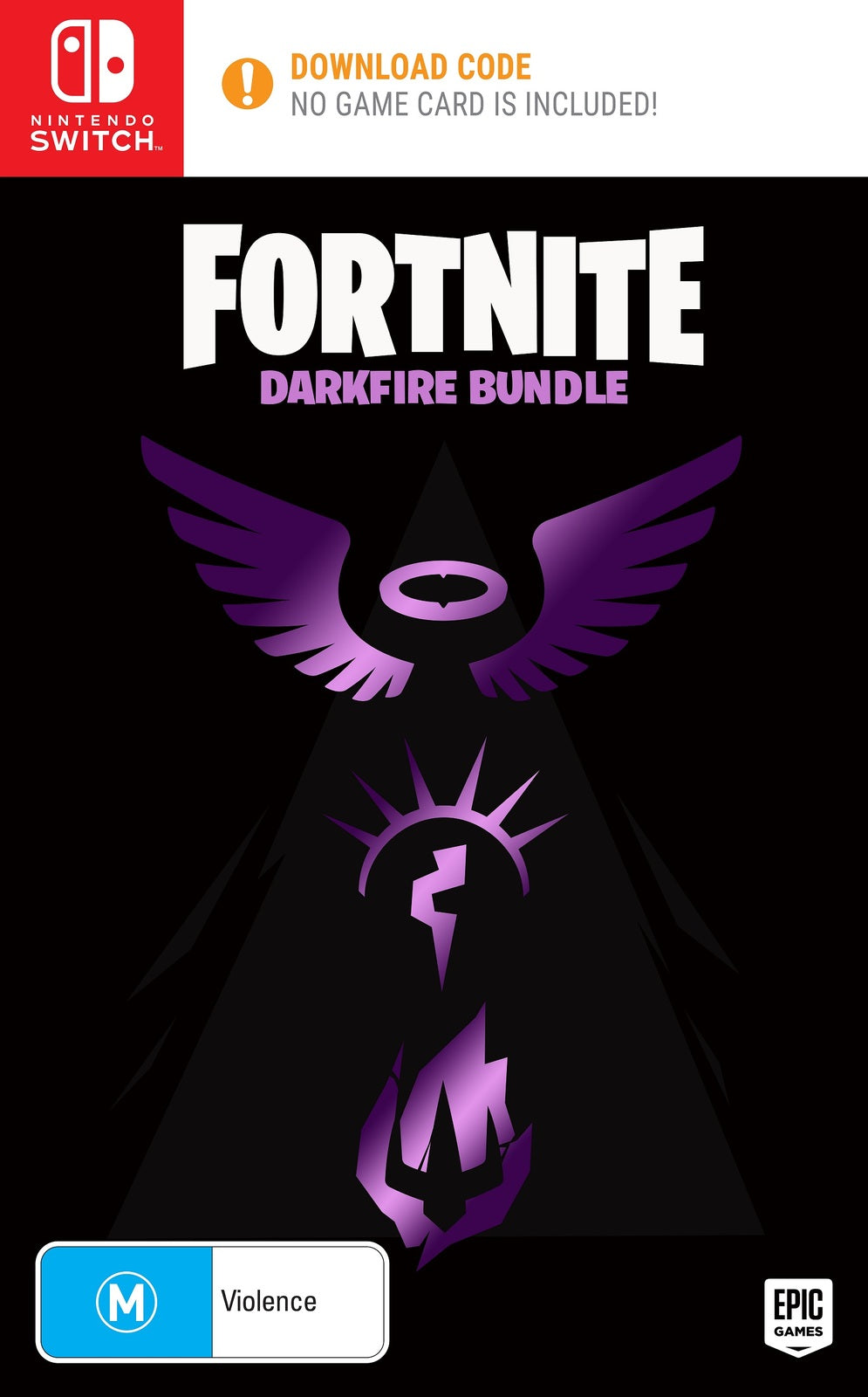 Fortnite: Dark Fire Bundle (code in box) - Nintendo Switch