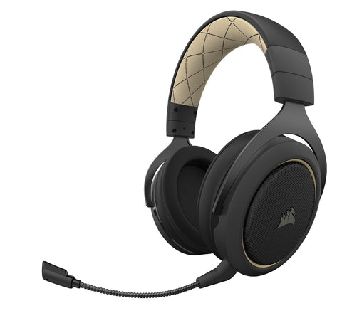 Corsair HS70 Pro Wireless Gaming Headset (Cream) - PC Games