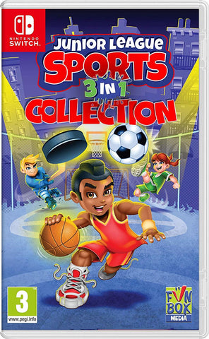 Junior League Sports 3-in-1 Collection - Nintendo Switch