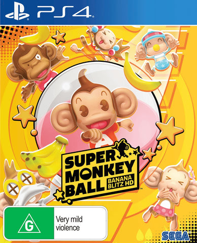 Super Monkey Ball Banana Blitz HD - PS4