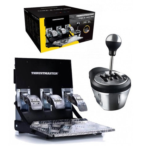 Thrustmaster TH8A Shifter & T3PA PRO Pedal Set Bundle (PS4,PS3, PC & Xbox One) - PS4