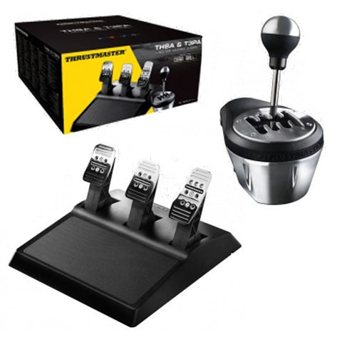 Thrustmaster TH8A Shifter & T3PA Pedal Set Bundle (PS4,PS3, PC & Xbox One) - PS4