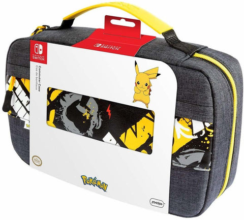 PDP Switch Commuter Case - Pikachu - Nintendo Switch