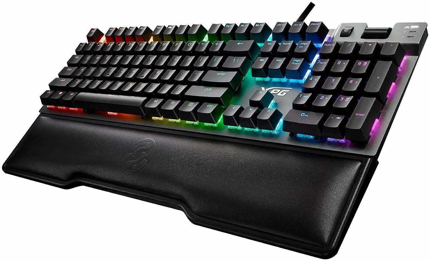 XPG Summoner RGB Gaming Mechanical Keyboard - Cherry MX RGB Blue - PC Games