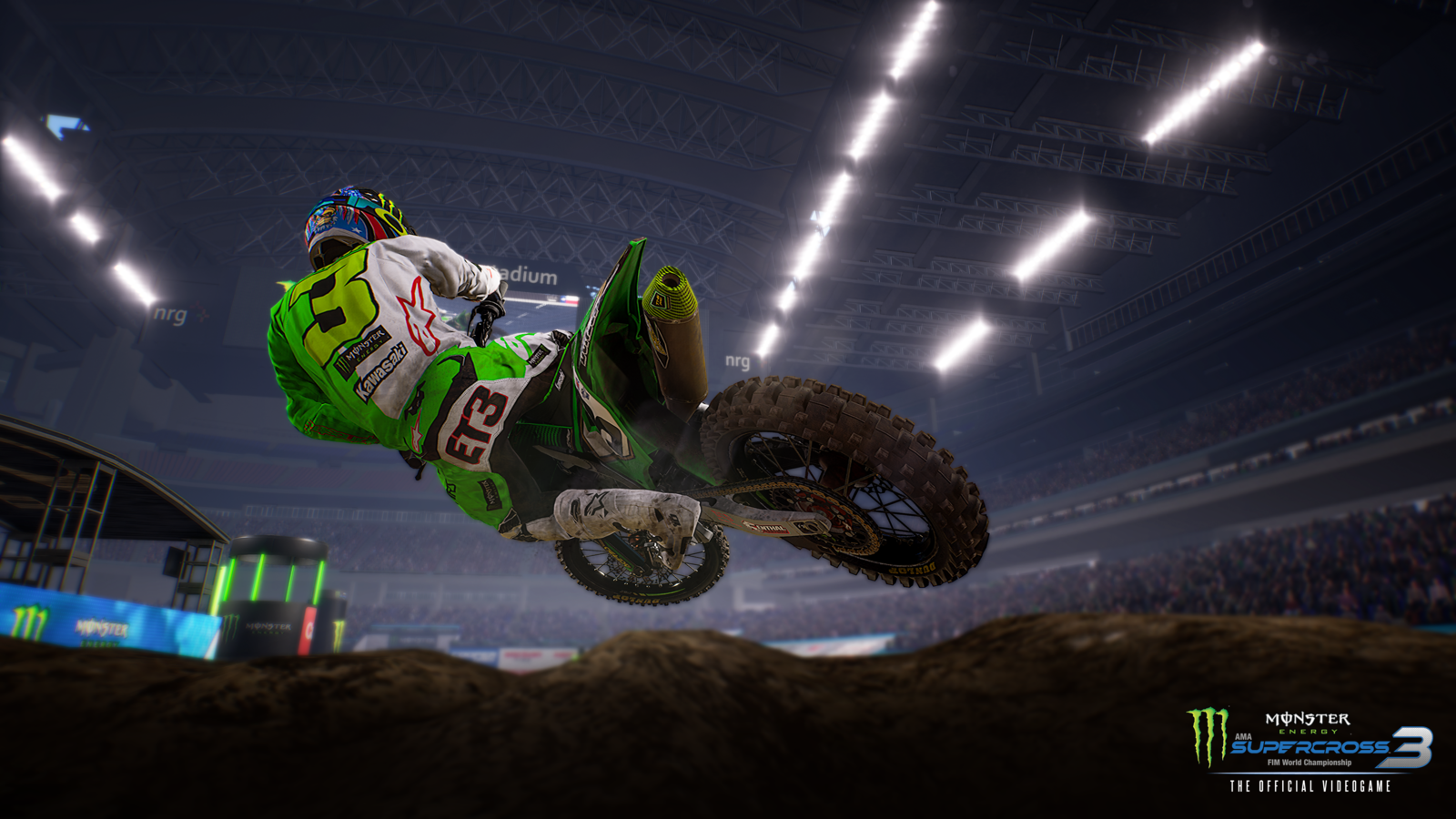 Monster Energy Supercross - The Official Videogame 3 - Nintendo Switch