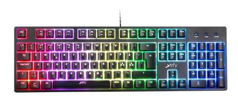 XTRFY K3 RGB Mechanical Gaming Keyboard (US) - PC Games
