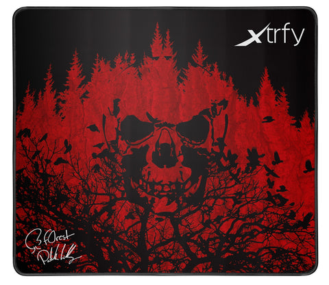 XTRFY XTP1 Gaming Mousepad - Large f0rest - PC Games
