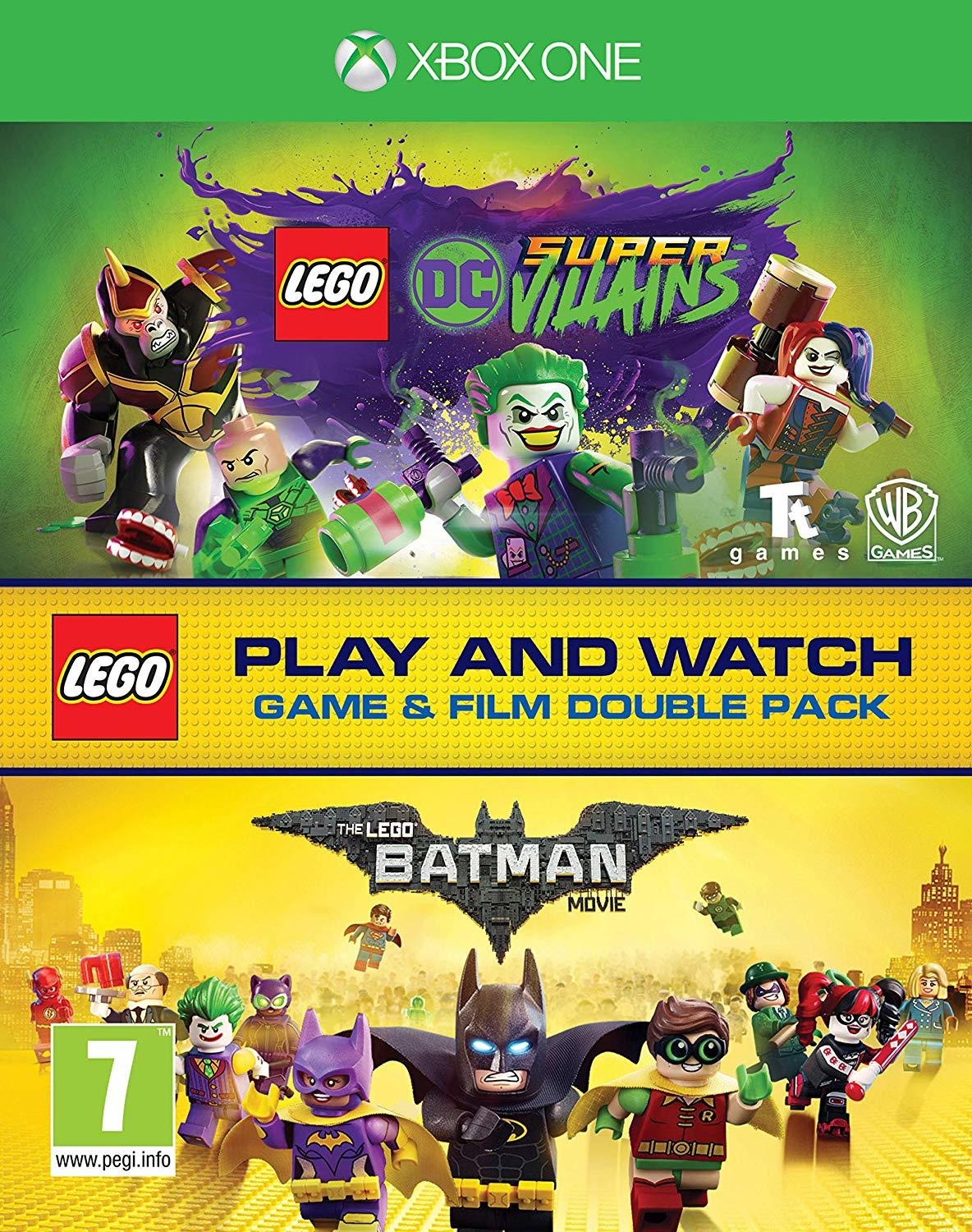 Lego DC Super-Villains Game & Film Double Pack - Xbox One
