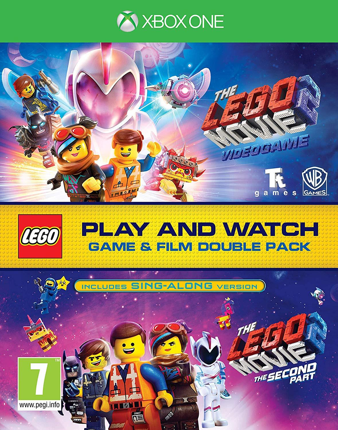 Lego Movie 2 Game & Film Double Pack - Xbox One