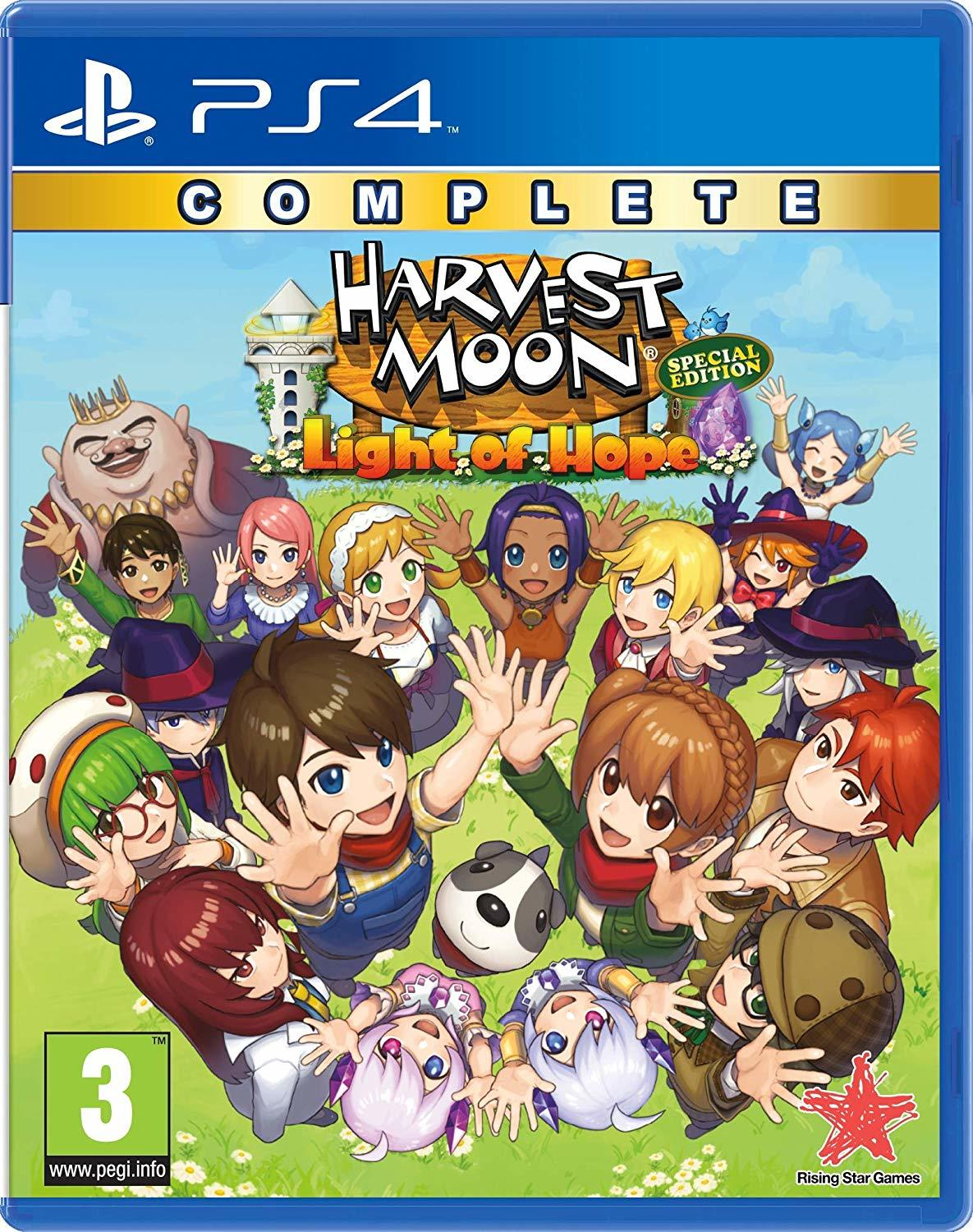 Harvest Moon: Light of Hope Complete Special Edition - PS4