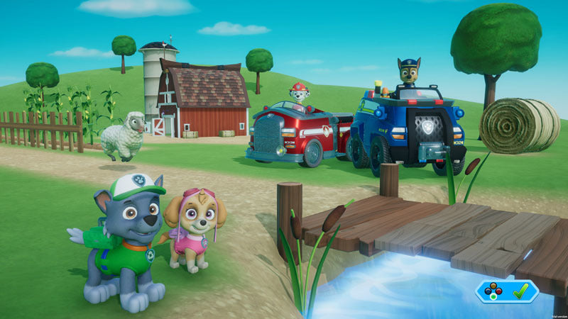 PAW Patrol: On a Roll! + Travel Case - Nintendo Switch