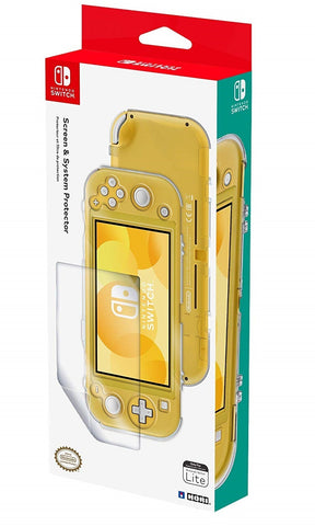 Switch Lite Screen & System Protector by Hori - Nintendo Switch