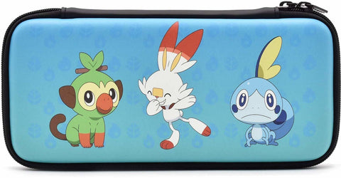 Hori Nintendo Switch Pokemon Sword Hard Pouch - Nintendo Switch