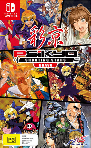 Psikyo Shooting Stars Bravo Limited Edition - Nintendo Switch