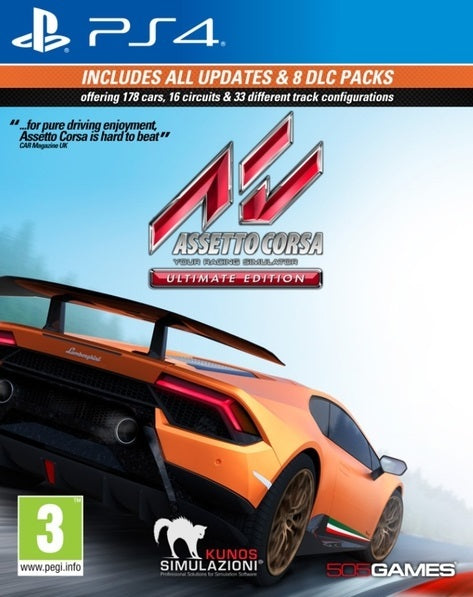 Assetto Corsa: Ultimate Edition - PS4