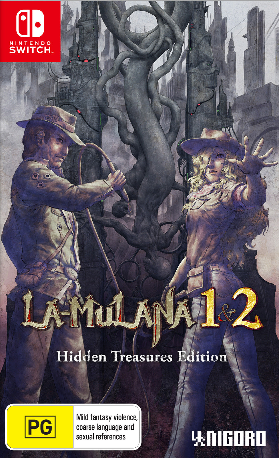 LA-Mulana 1 & 2: Hidden Treasures Edition - Nintendo Switch