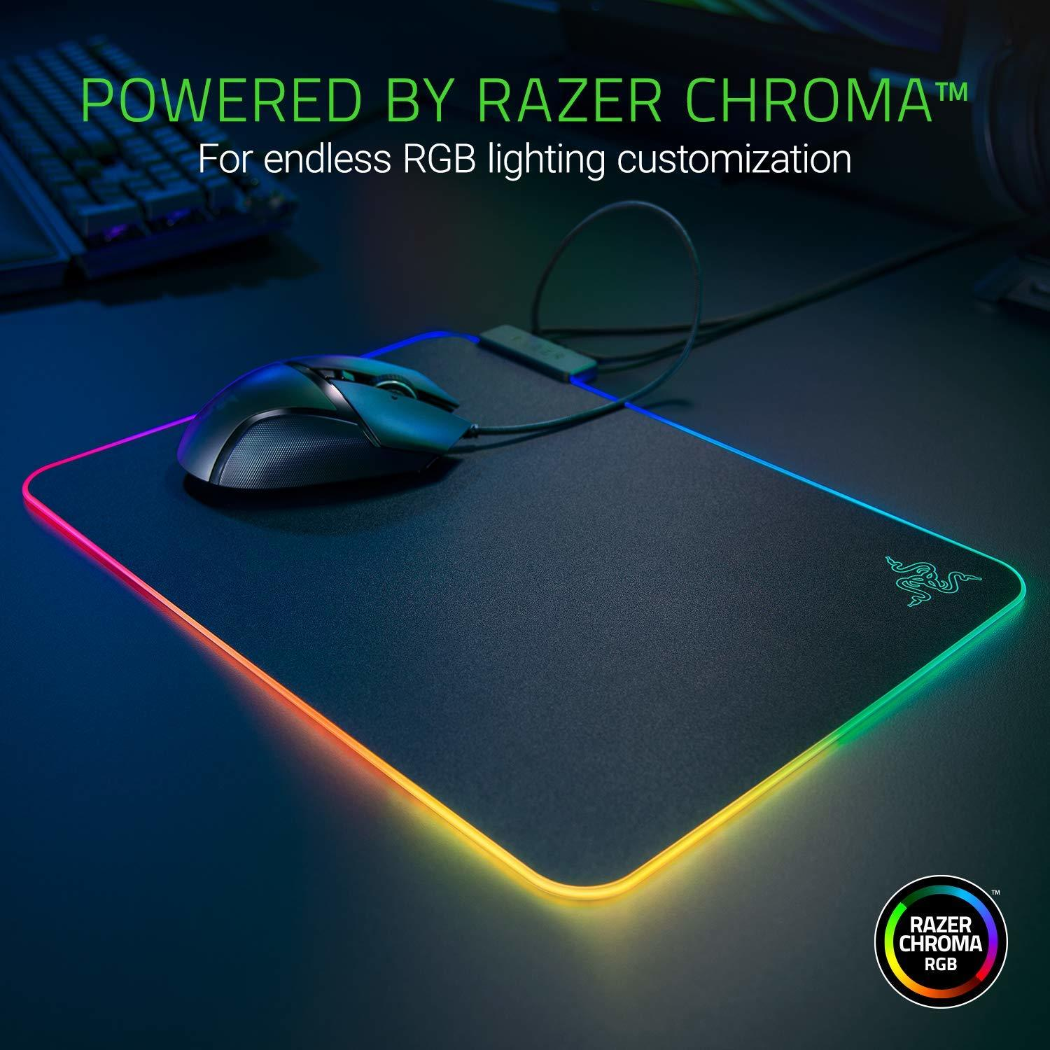 Razer Firefly V2 Hard Surface Gaming Mouse Mat - PC Games