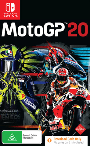 MotoGP™20 (code in box) - Nintendo Switch