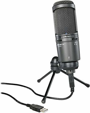 Audio-Technica AT2020 USB+ Condenser Cardoid Microphone