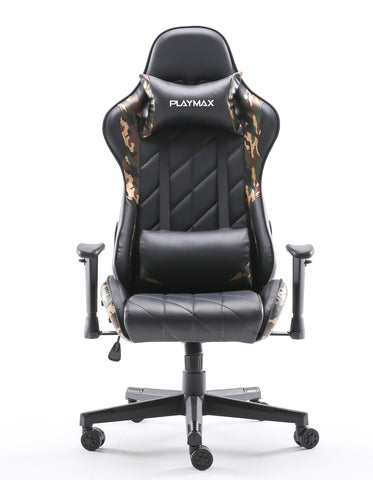 Playmax Elite Gaming Chair - Green Camo