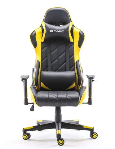 Playmax Elite Gaming Chair - Yellow and Black