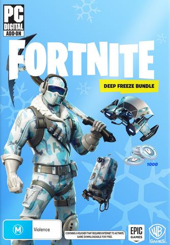 Fortnite: Deep Freeze Bundle (code in box) - PC Games