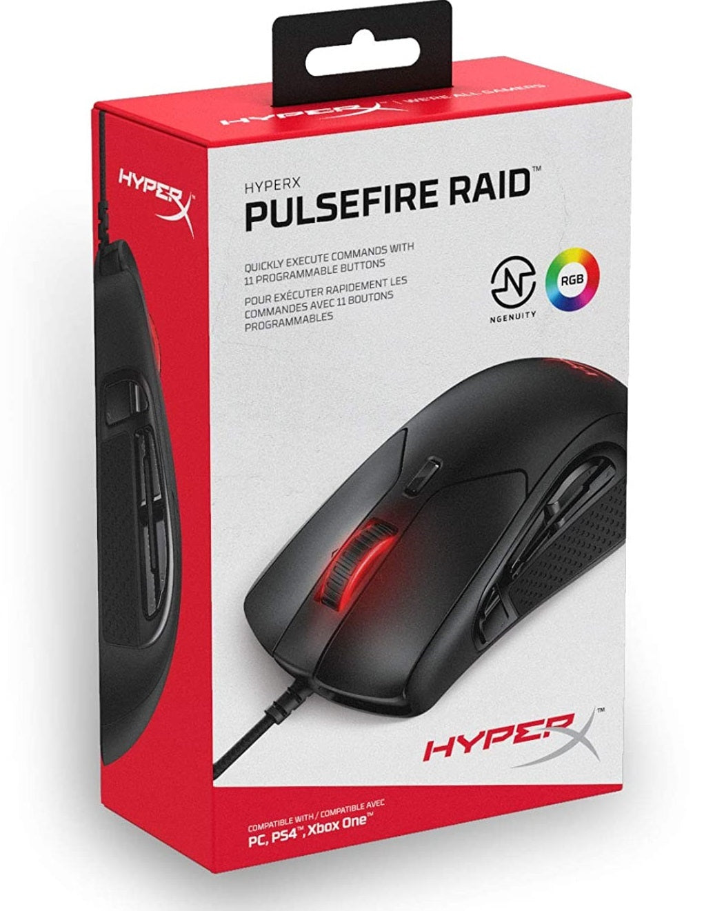 HyperX Pulsefire Raid Gaming Mouse - PC Games