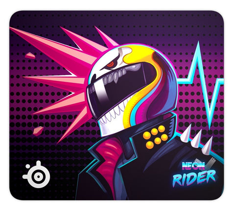 SteelSeries Qck Mouse pad - Neon Rider Edition (Large) - PC Games