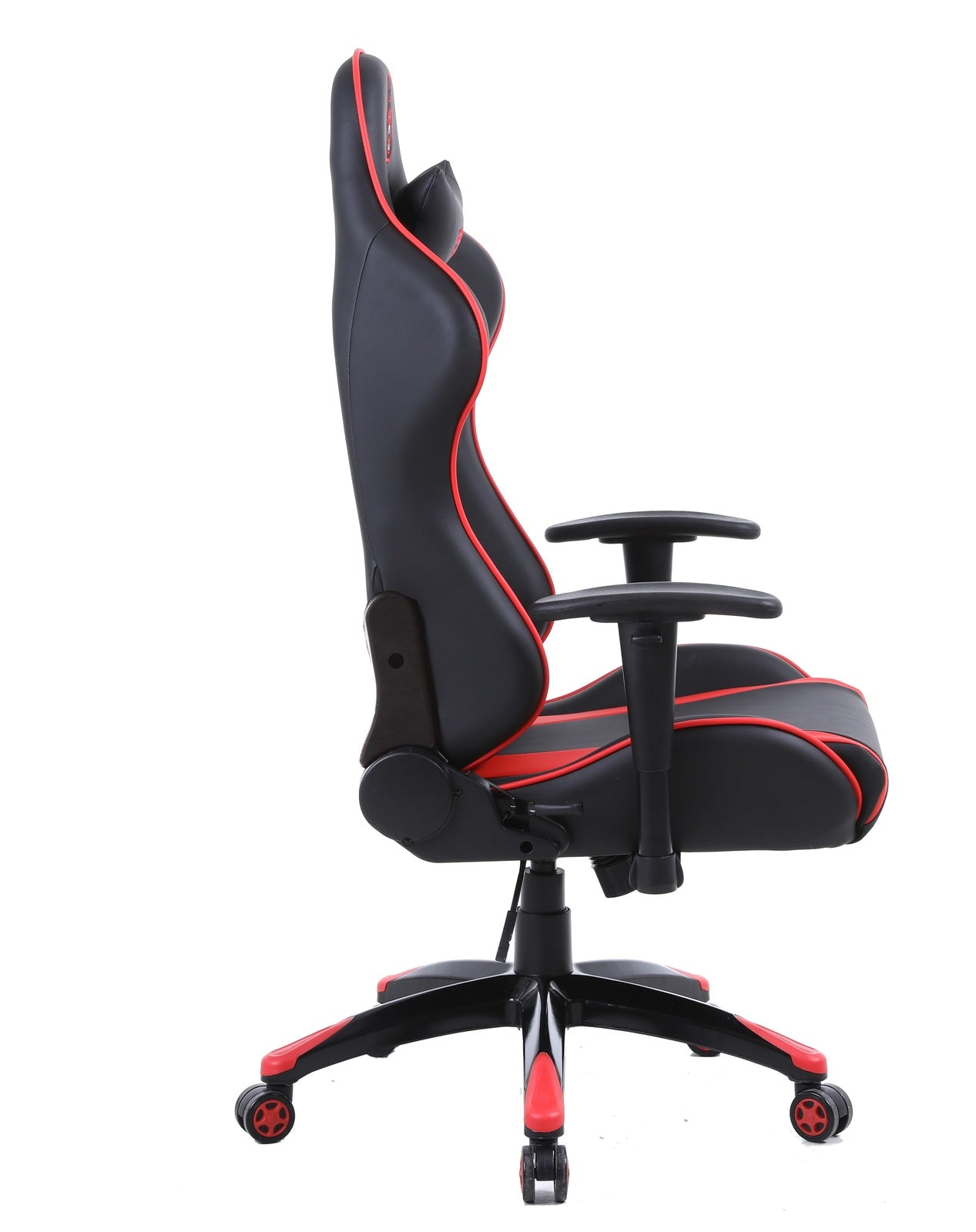 Gorilla Gaming Commander Chair - Red & Black