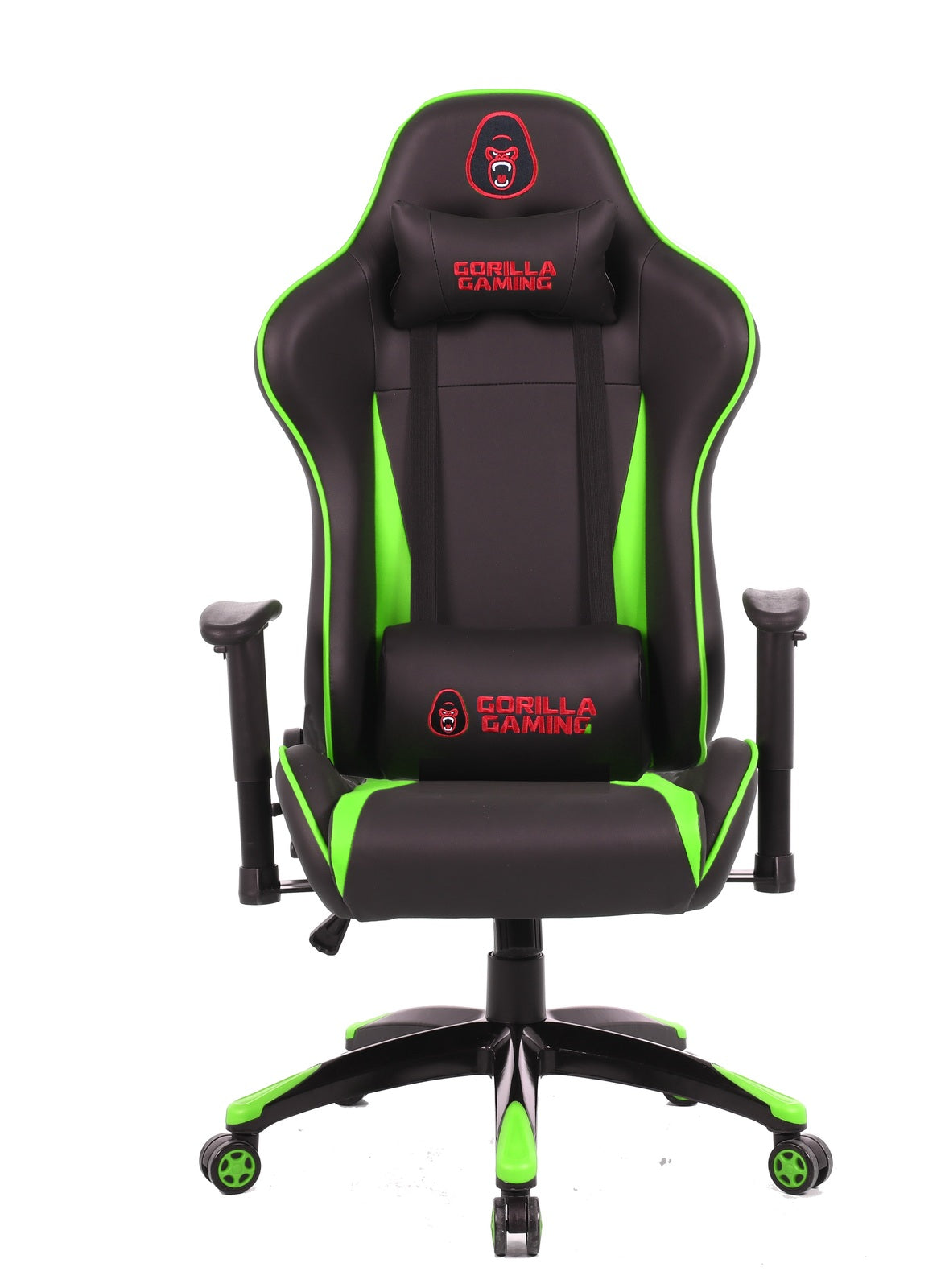 Gorilla Gaming Commander Chair - Green & Black