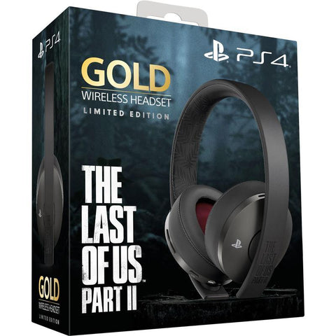PlayStation Gold Wireless 7.1 Gaming Headset - The Last of Us Part II Limited Edition - PS4