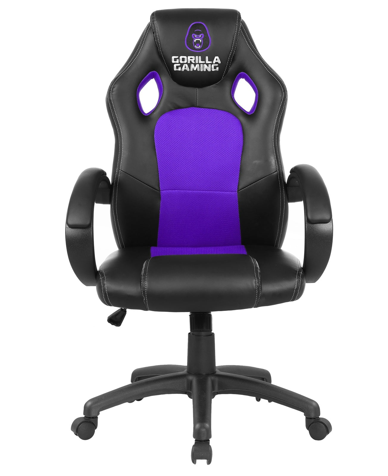 Gorilla Gaming Chair - Purple & Black