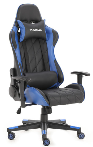 Playmax Elite Gaming Chair - Blue and Black