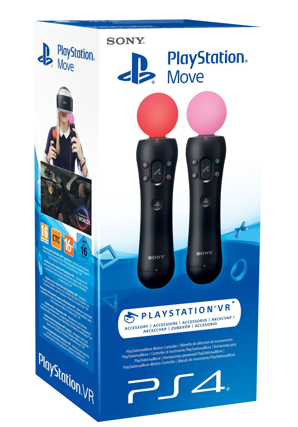 PlayStation VR Move Twin Pack - PS4