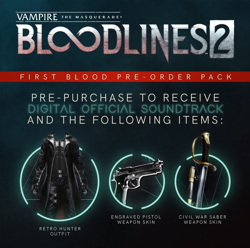 Vampire: The Masquerade – Bloodlines 2 First Blood Edition - Xbox One