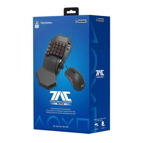 Hori PS4 TAC Pro M2 Gaming Keyboard & Mouse - PS4