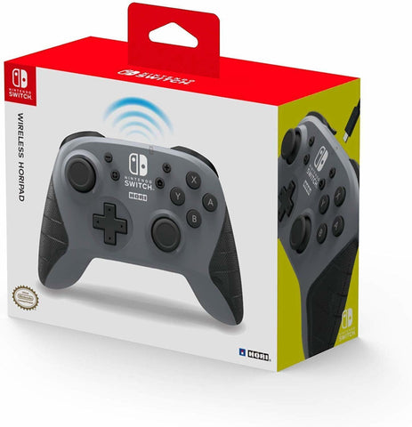 Switch Wireless HORIPAD (Grey) by Hori - Nintendo Switch