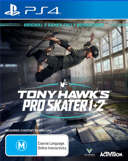 Tony Hawk's Pro Skater 1 & 2 - PS4