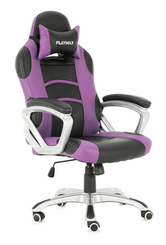 Playmax Gaming Chair Purple and Black